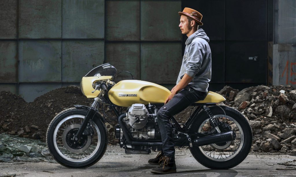 Return of the Cafe Racers - Royal Dozen – Moto Guzzi Le Mans cafe racer