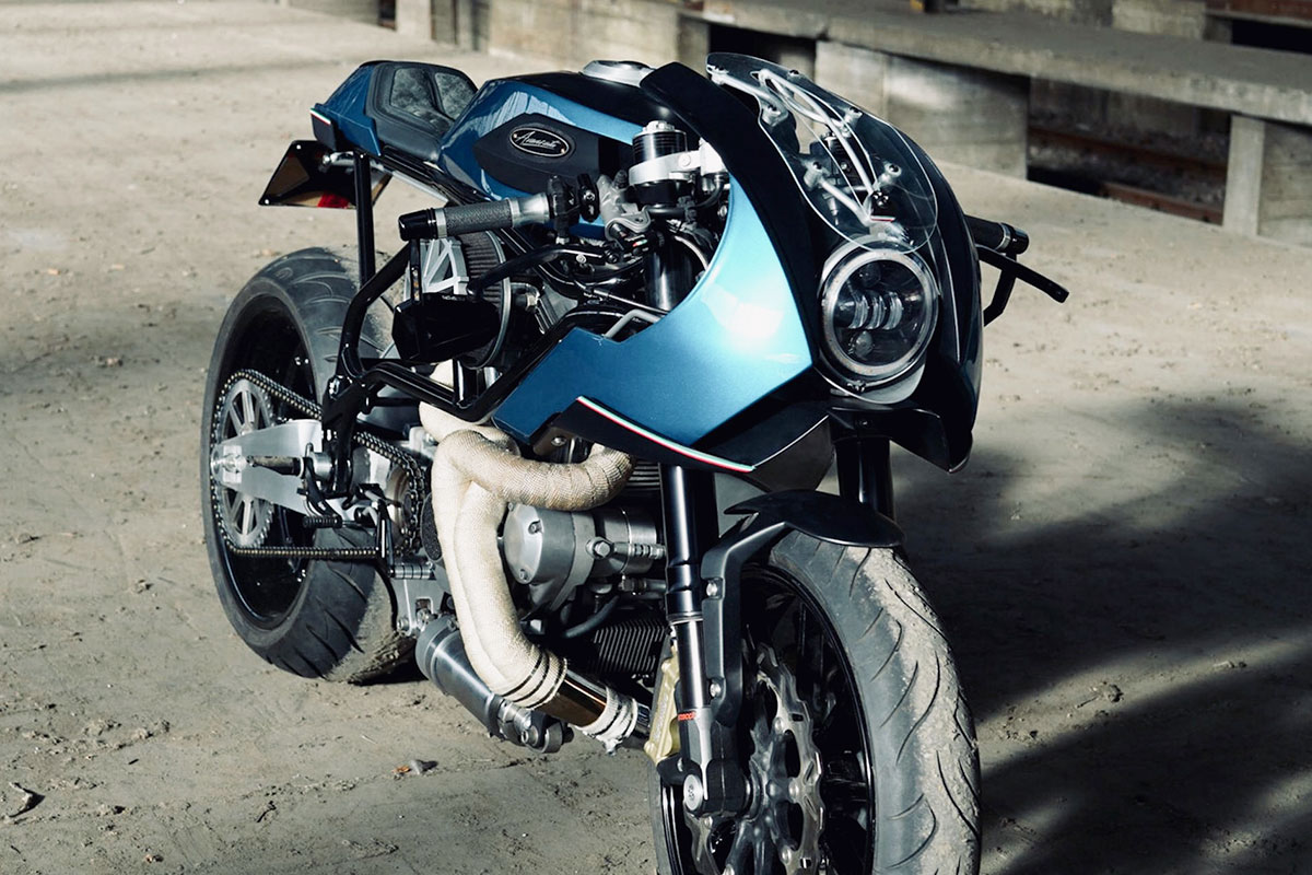 buell m2 cyclone cafe racer