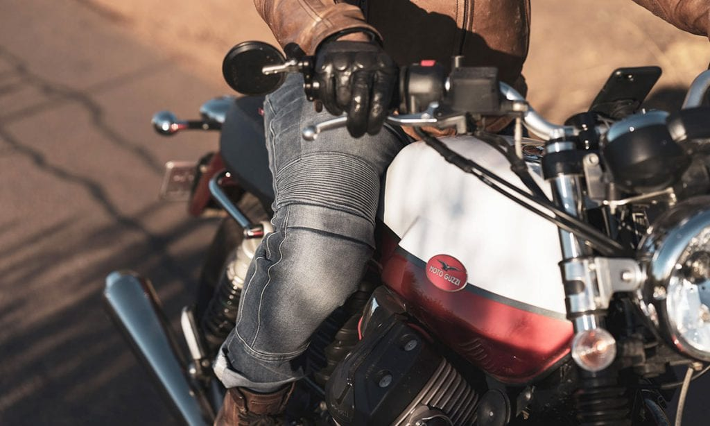 Return of the Cafe Racers - Gear Review – Pando Moto Karl Navy Jeans