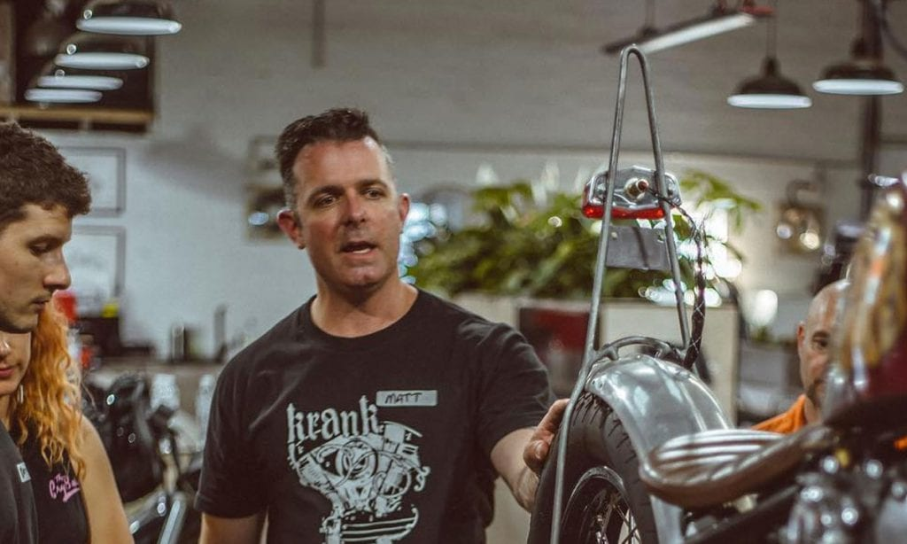 Return of the Cafe Racers - Learn how to build a Cafe Racer