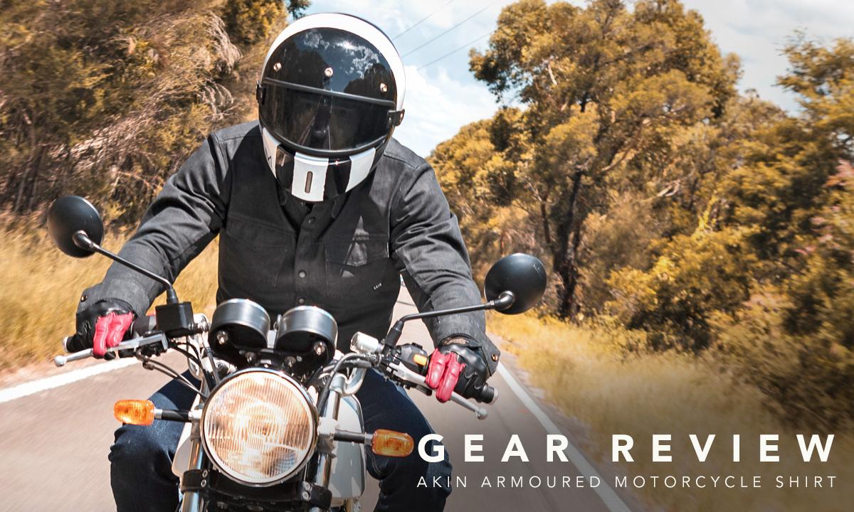 Akin armoured motorcycle shirt
