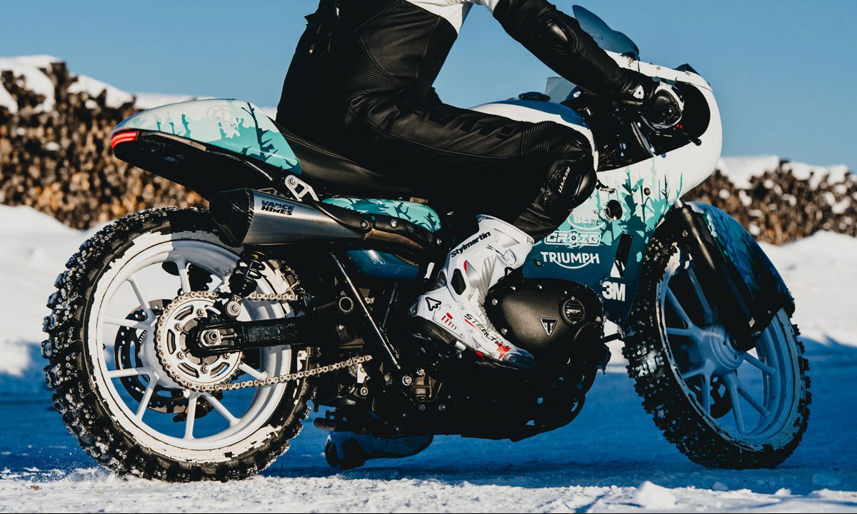 Return of the Cafe Racers - Winter Blues – CROIG Triumph Ice Racer