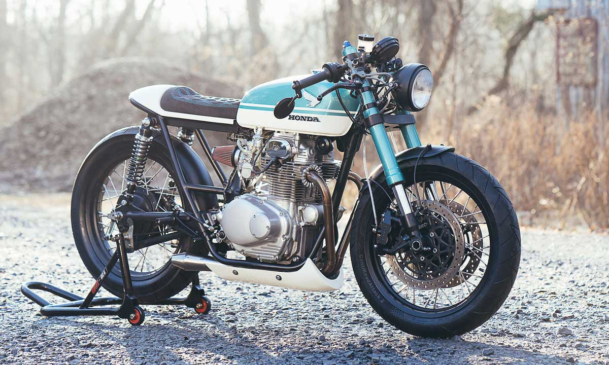 Return of the Cafe Racers - Merlin Cycleworks