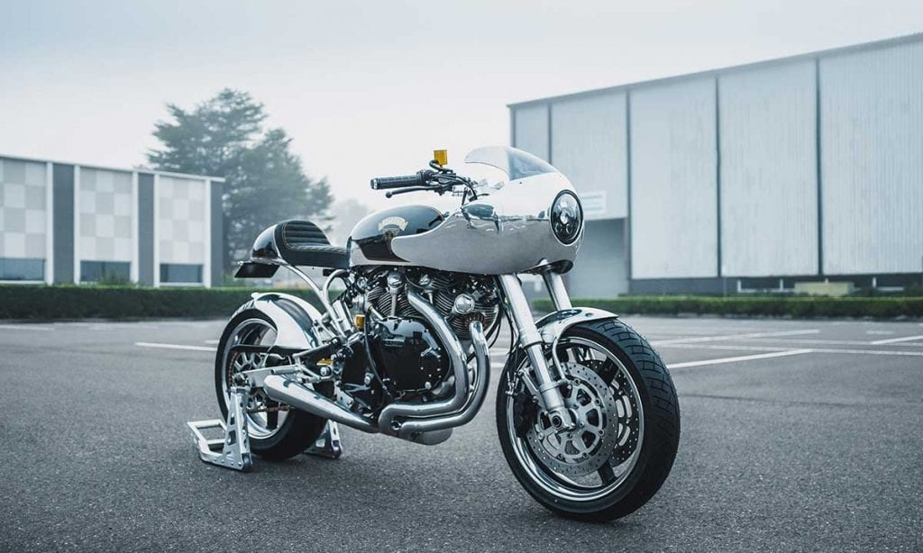 Return of the Cafe Racers - 21st Century Vincent Black Shadow