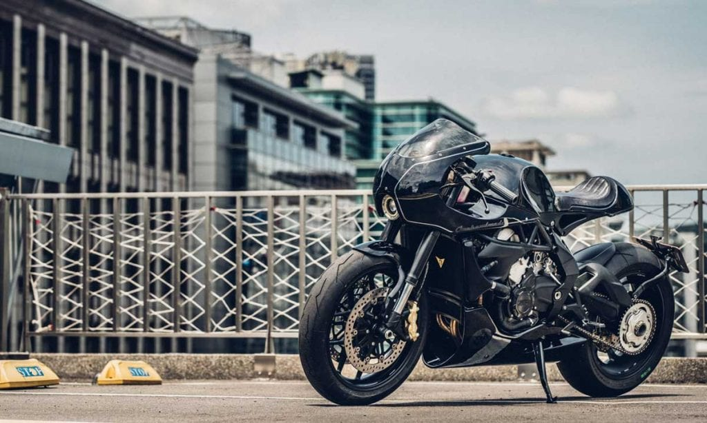 Return of the Cafe Racers - One Hand Made – MV Agusta Brutale