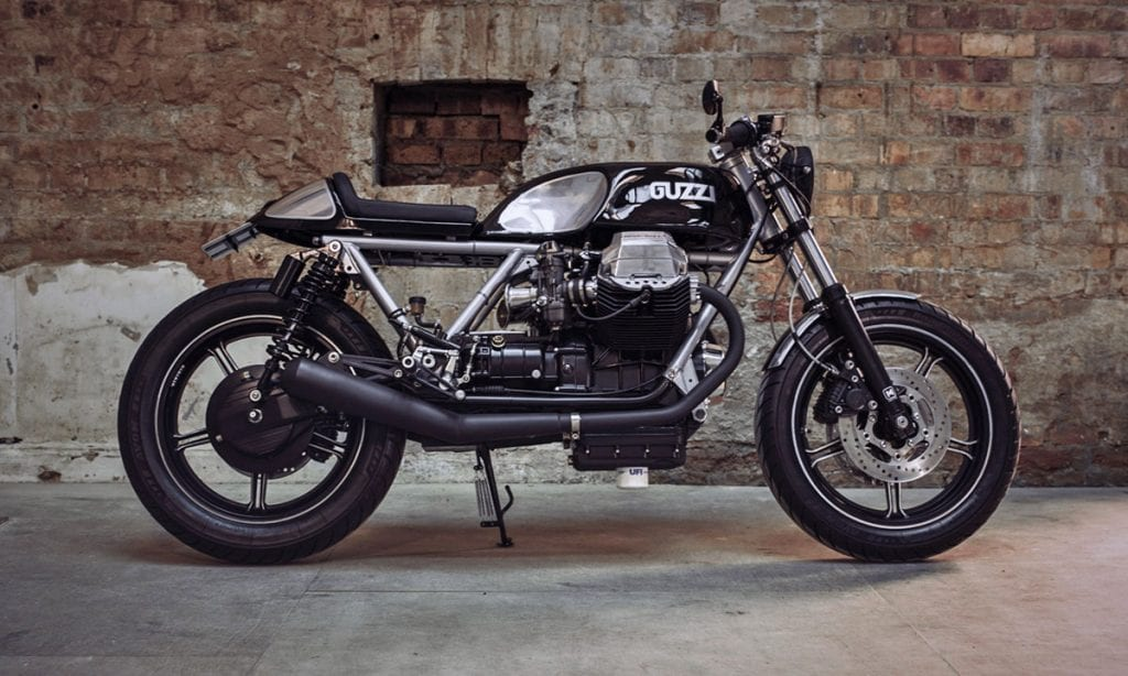 Return of the Cafe Racers - Aquila Nera – Le Mans 1000 Cafe Racer