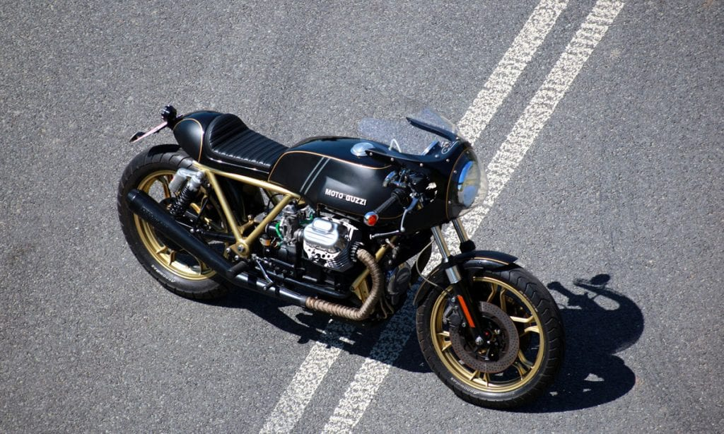 Return of the Cafe Racers - Destined to Guzzi – Marcin's T3 Cafe Racer