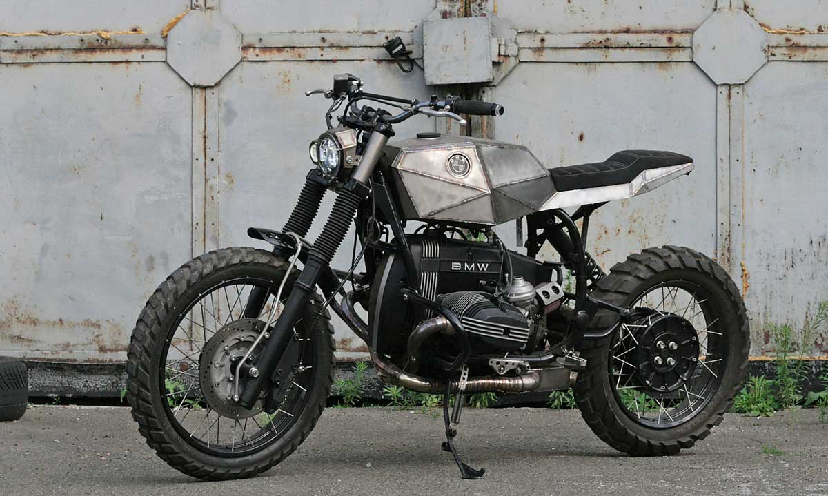 Twin Shock Division BMW scrambler