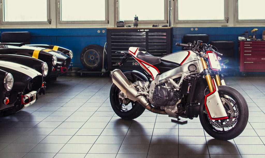 Return of the Cafe Racers - Mix N Match – Pikes Peak Aprilia Tuono