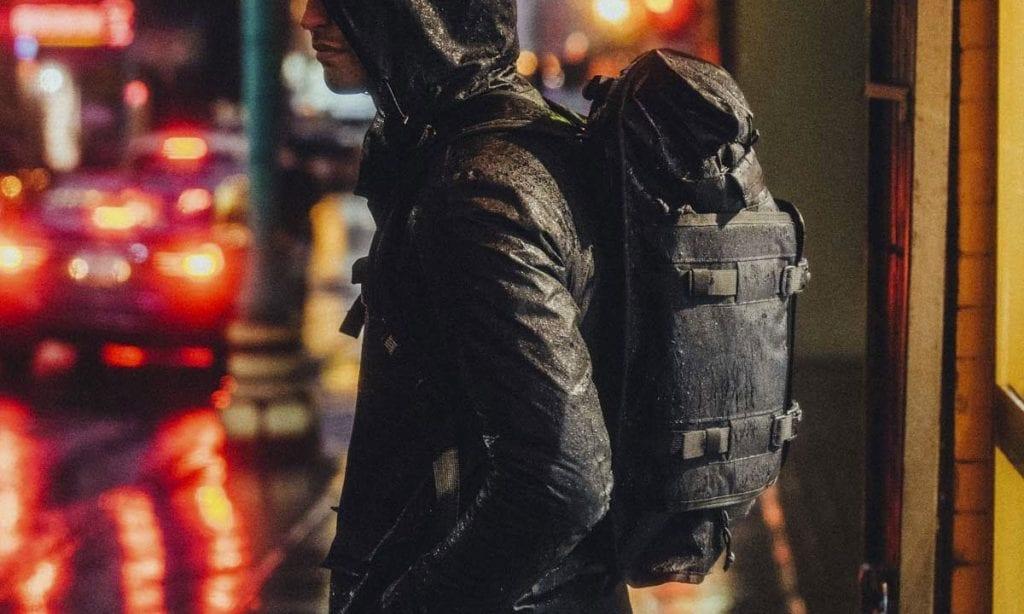Return of the Cafe Racers - Gear Review – Rhake Weatherproof Backpack