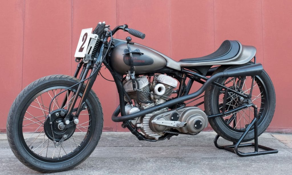 Return of the Cafe Racers - Hand Shifted – Tim Kill's Harley Davidson WLA