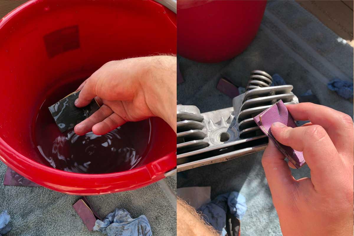 polishing aluminum