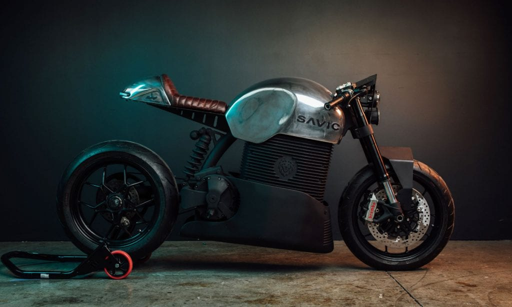 Return of the Cafe Racers - Bright Spark – Savic Electric Motorcycles