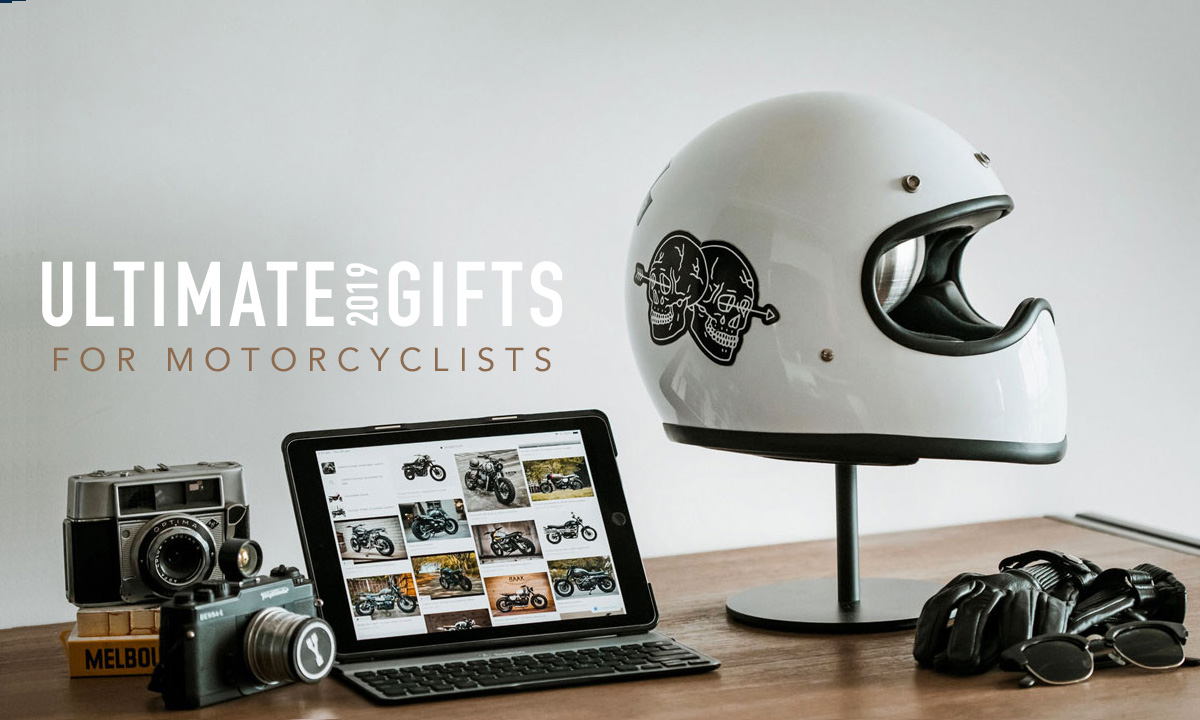 Gifts for motorcyclists 2019