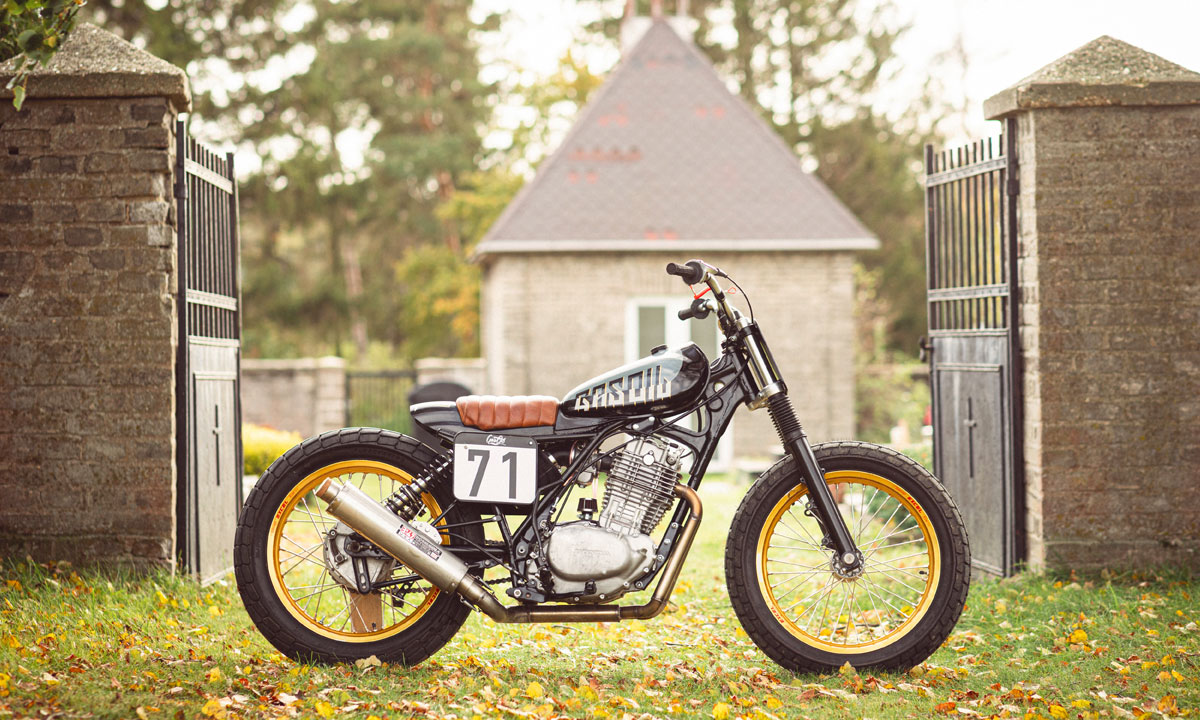 Return of the Cafe Racers - Mata Hari – Honda XL500 Flat Tracker