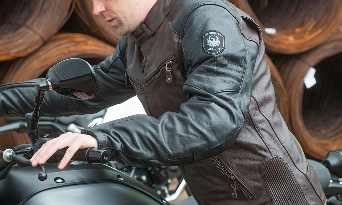 Return of the Cafe Racers - Riding Gear – Merlin Chase Jacket