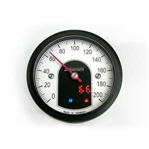 Motoscope tiny speedometer