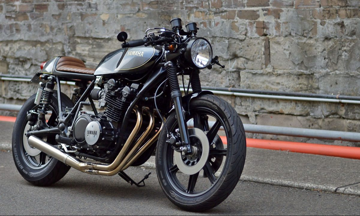 Return of the Cafe Racers - Veronica – Fly Wheels XS750 Cafe Racer