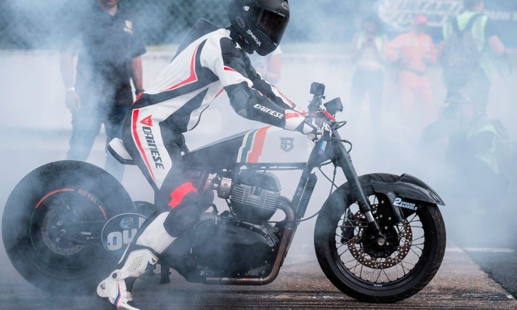 Return of the Cafe Racers - Sinroja Motorcycles GT 650 Drag Bike