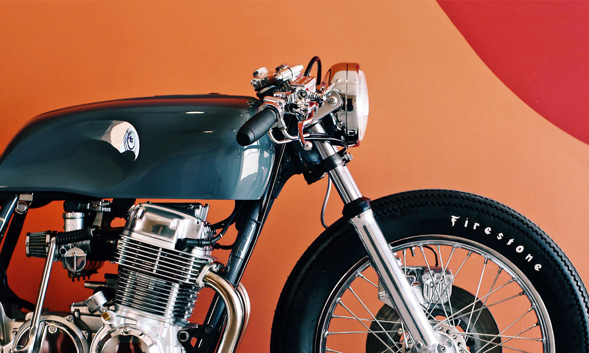 Return of the Cafe Racers - Same But Different – Thirteen & Co. CB750F