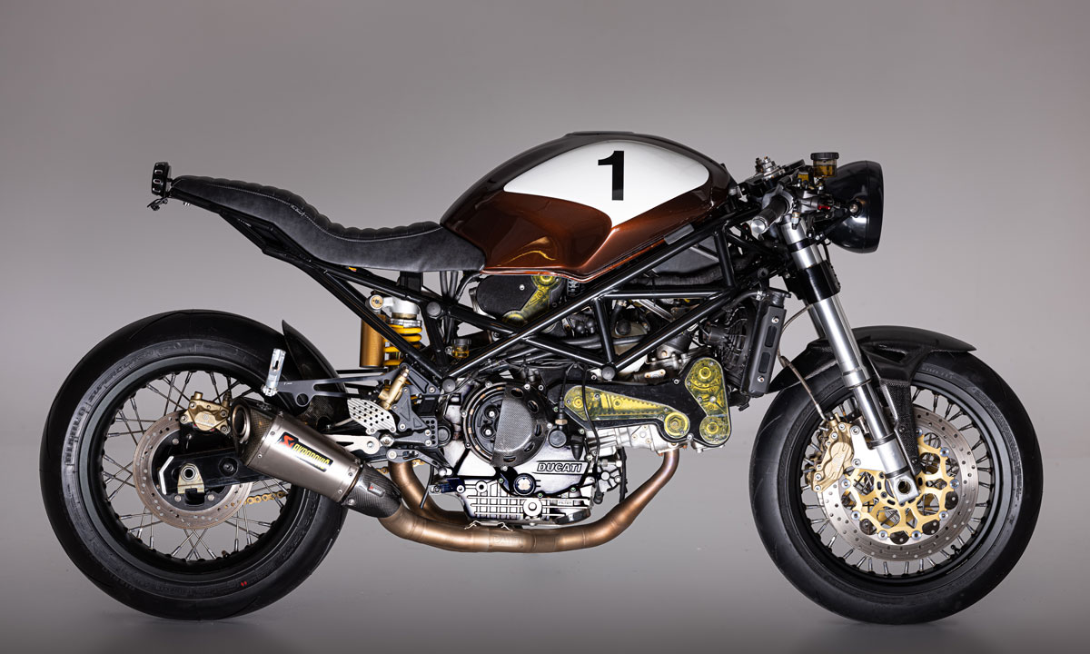 Return of the Cafe Racers - Timeless Italian – Barn Built Ducati Monster S4