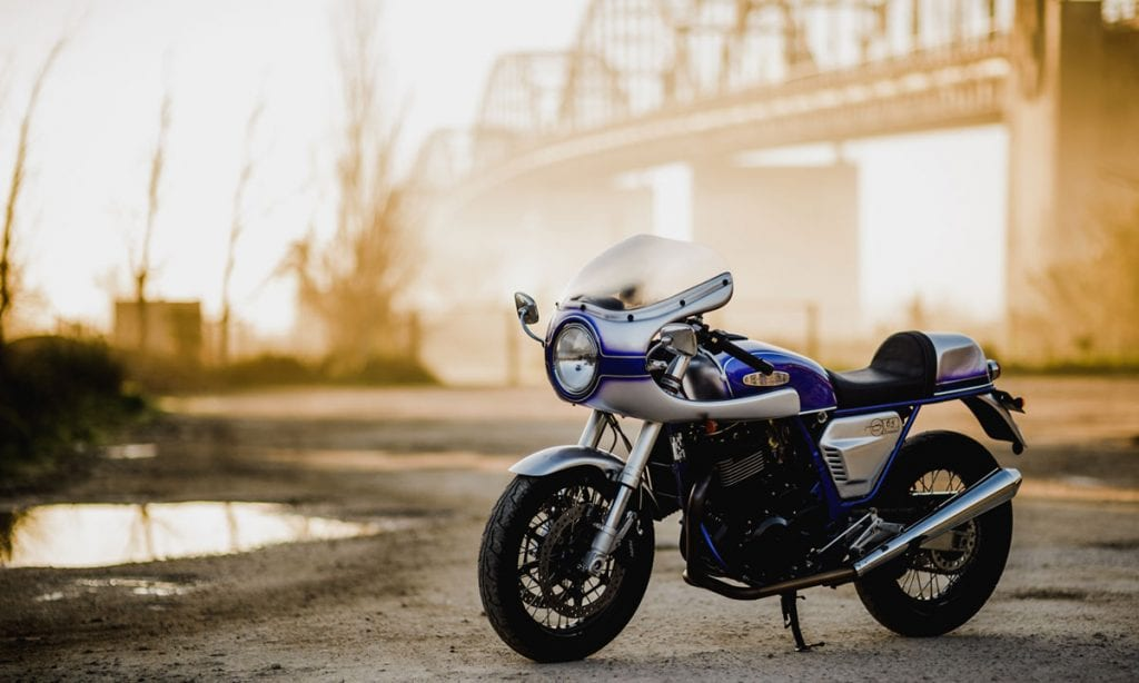 Return of the Cafe Racers - Freewind Racer – Cafeina Suzuki XF650