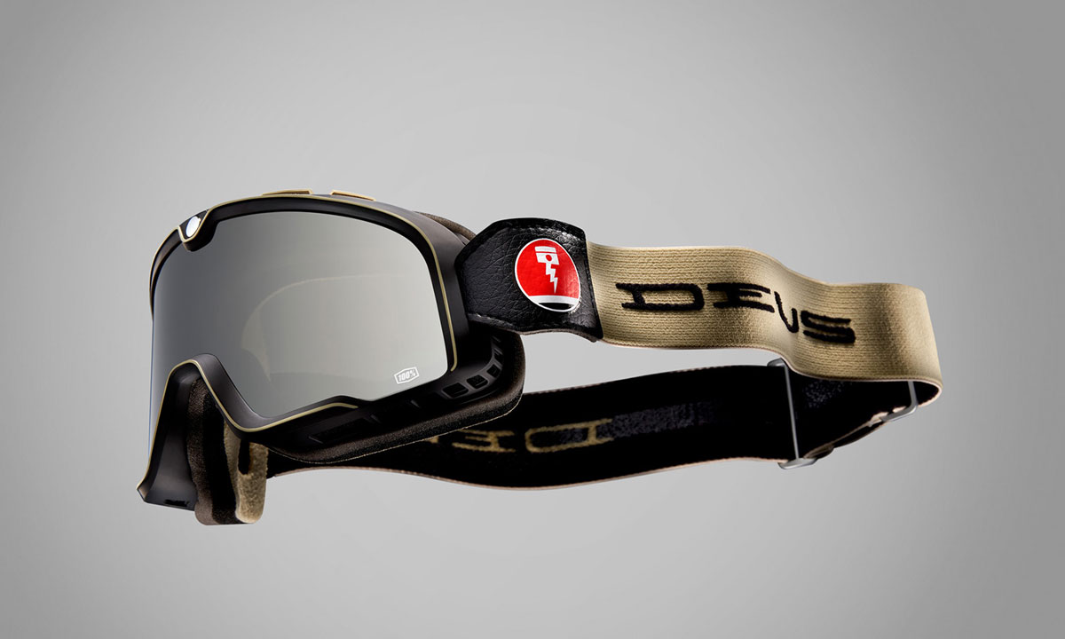 Return of the Cafe Racers - 100% Barstow Deus Ex Machina Goggles