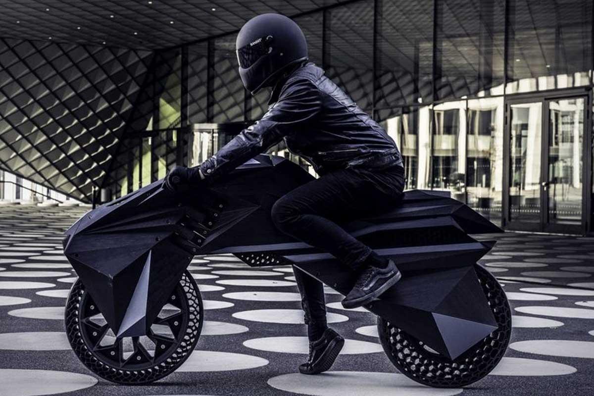 Bigrep 3D printed motorcycle