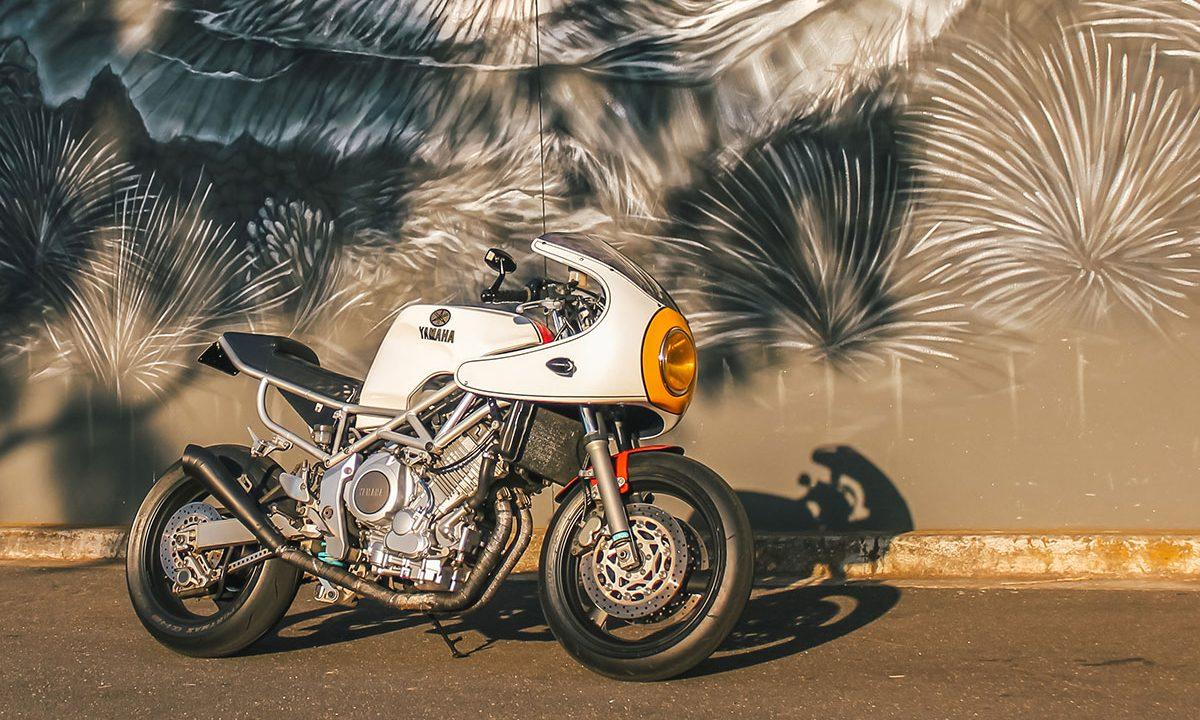 Yamaha TRX880 cafe racer