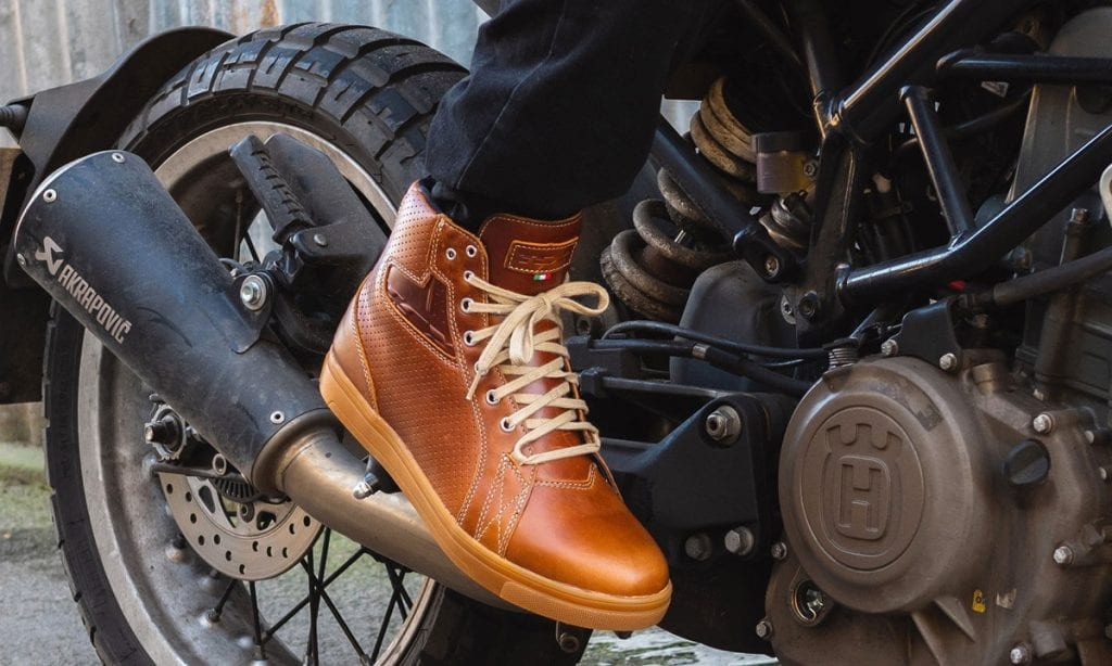 Return of the Cafe Racers - Riding Gear – TCX Street Ace Trainers