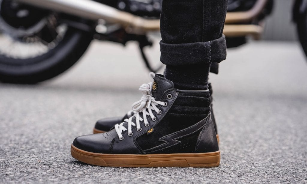Return of the Cafe Racers - Cortech Slayer Riding Shoe Review