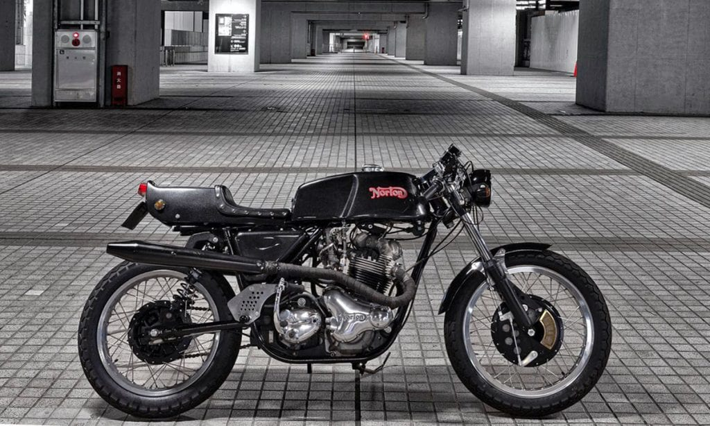 Return of the Cafe Racers - British Beat Norton Commando 850 Cafe Racer