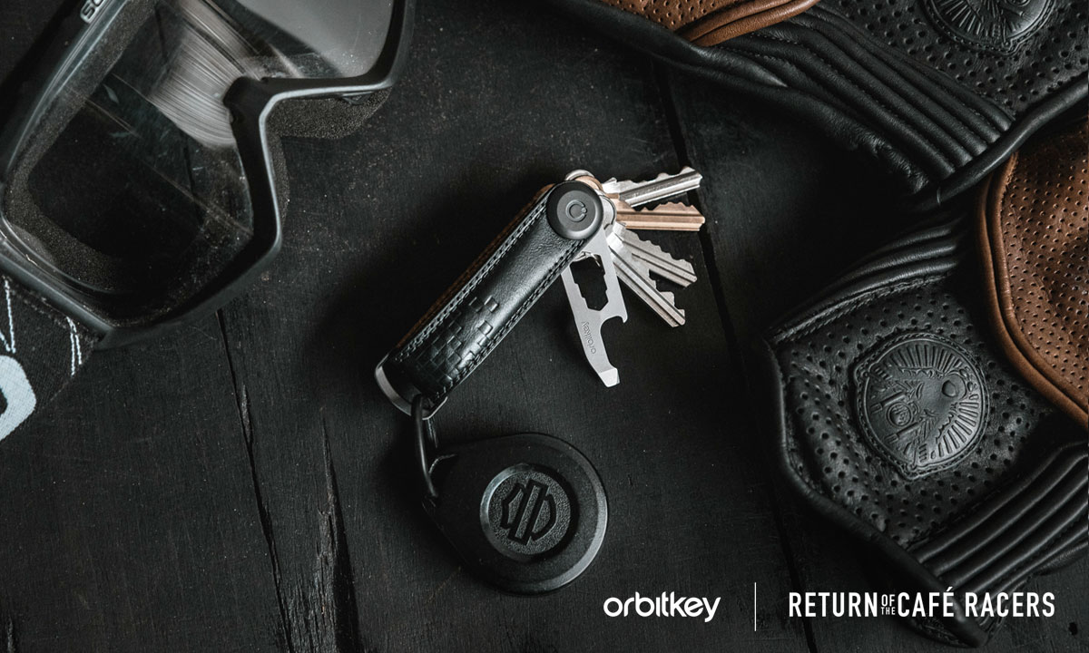 Orbitkey cafe racer key organiser