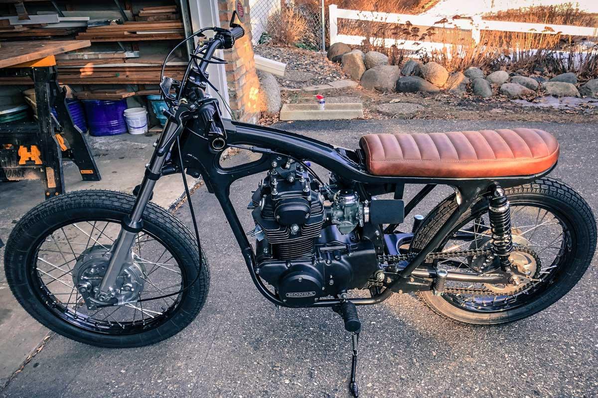 Motorcycle handlebar swap
