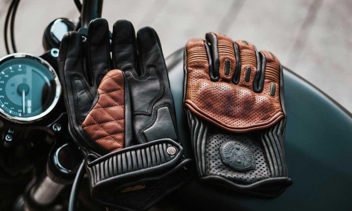 Cafe Racer Goldtop Predator gloves