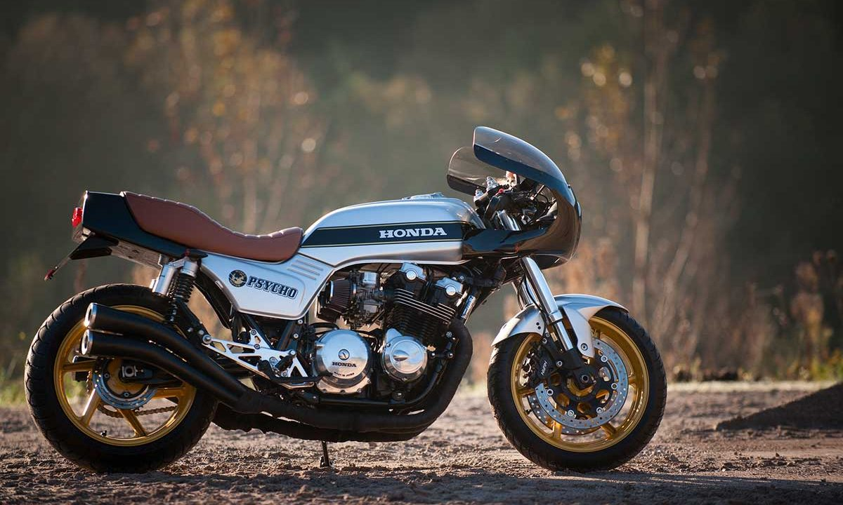 Return of the Cafe Racers - La Psycho – Señor Motorcycles CB900 Bol d'Or