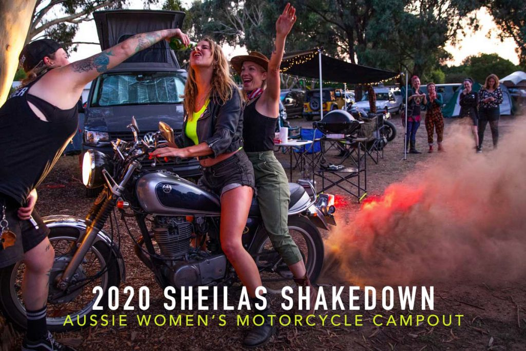 Return of the Cafe Racers - They Just Wanna – 2020 Sheilas Shakedown