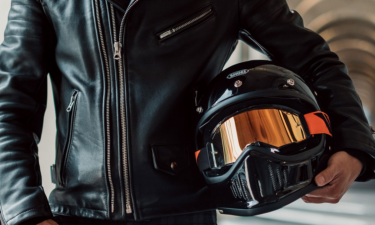 Return of the Cafe Racers - Shoei EX Zero Motorcycle Helmet Review