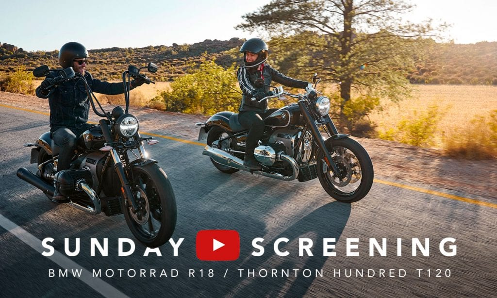 Return of the Cafe Racers - Sunday Screening – Thornton T120 & BMW R18