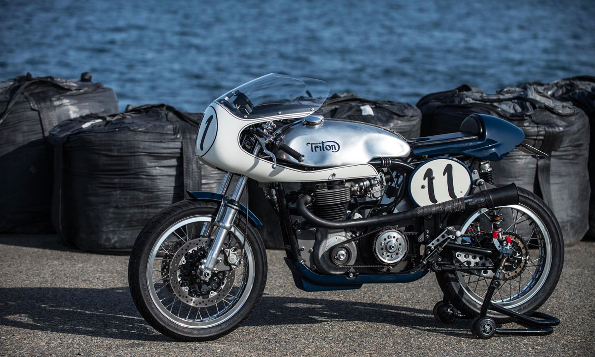 Return of the Cafe Racers - Well Nourished – Berry Bad Triton Racer