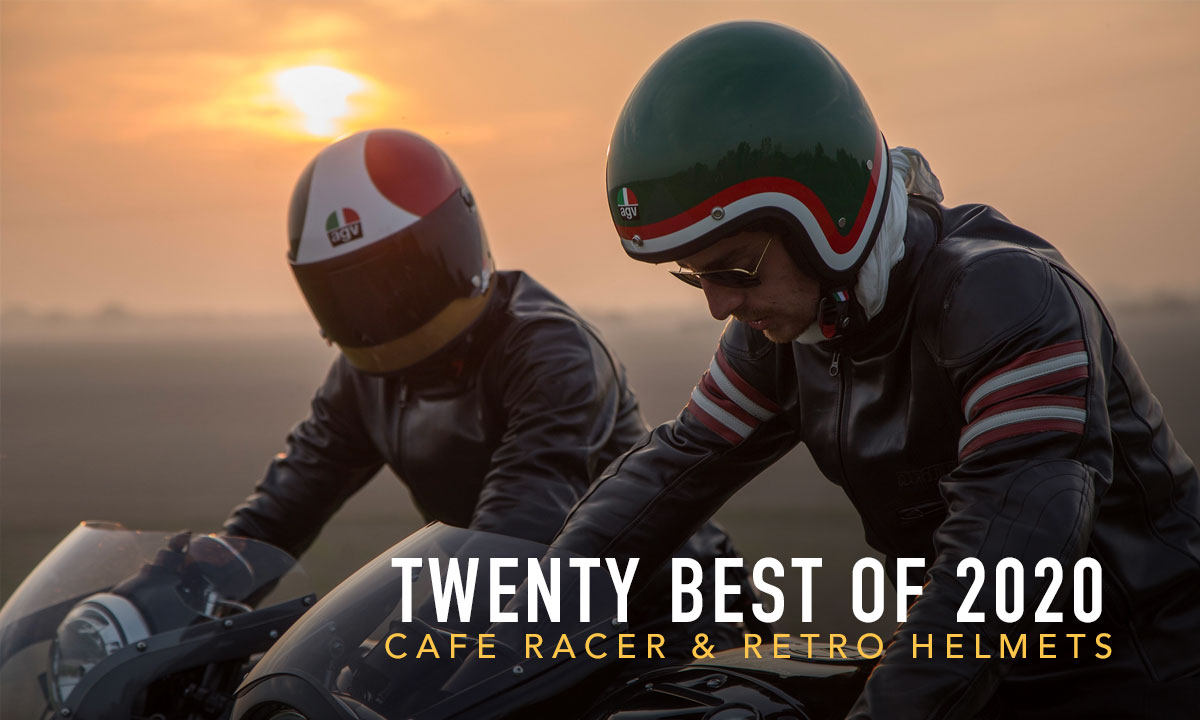 20 Best Cafe Racer Helmets Of 2020 Return Of The Cafe Racers