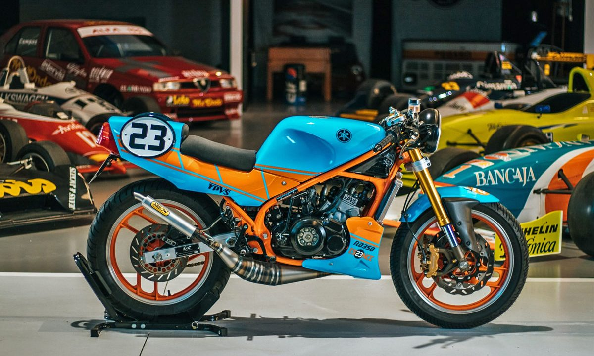 Return of the Cafe Racers - La 23 – Bolt Motor Co. Yamaha RD 350 YPVS