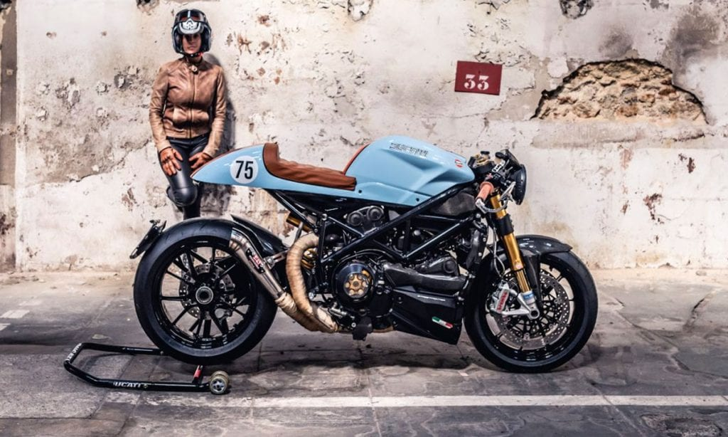 Return of the Cafe Racers - Ducati Streetfighter Cafe Racer by Duchampt