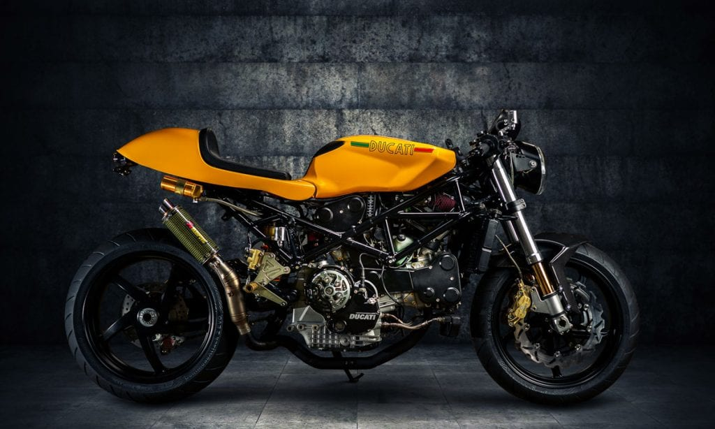 Return of the Cafe Racers - Moto Motivo Calabrone Ducati ST4S
