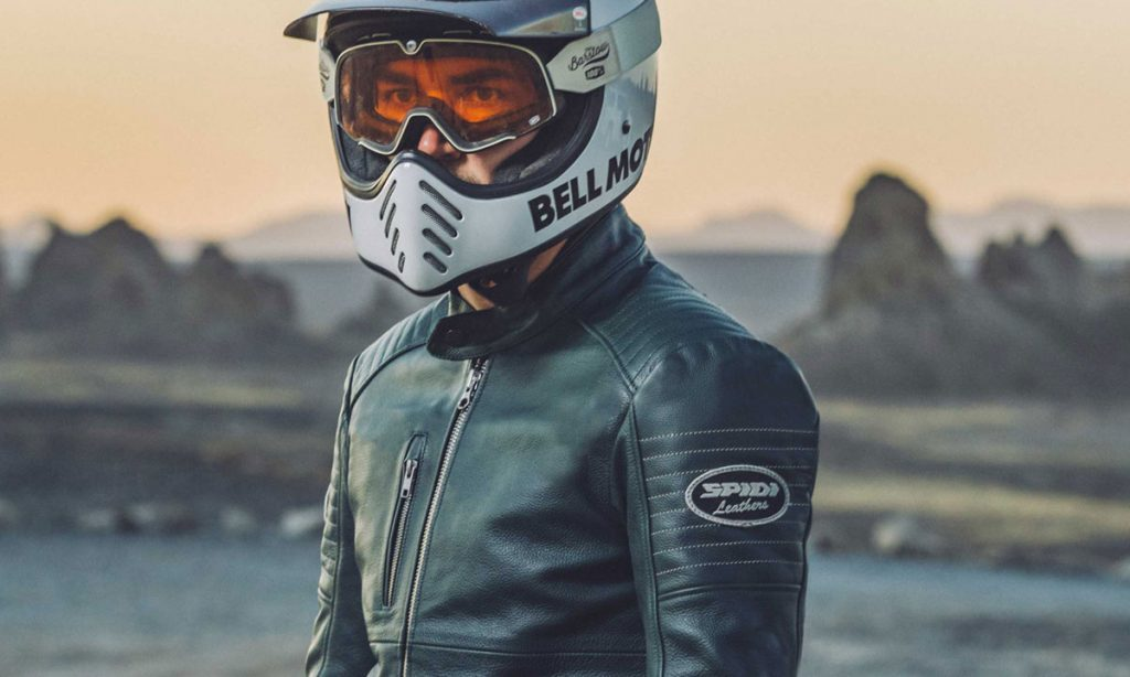 Return of the Cafe Racers - Spidi Clubber Motorcycle Jacket