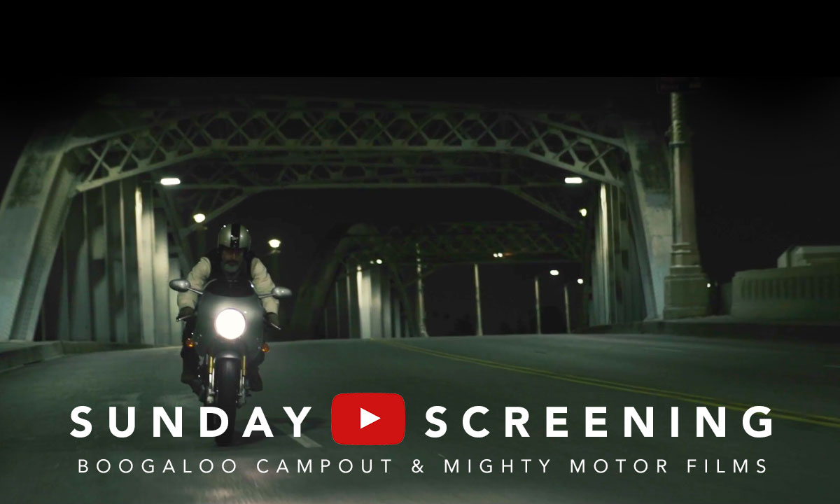 Return of the Cafe Racers - Sunday Screening – Boogaloo Campout & Mighty Motor Films