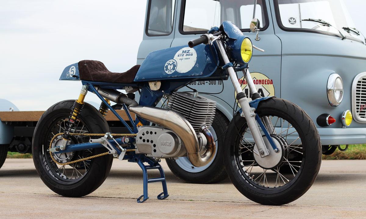 The Spider - KrisBiker Honda CB750 F2 | Return of the Cafe