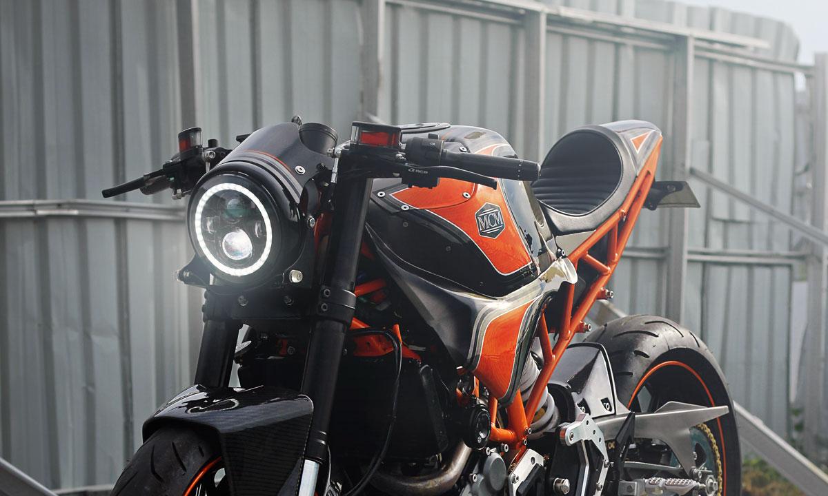 KTM RC250 cafe racer