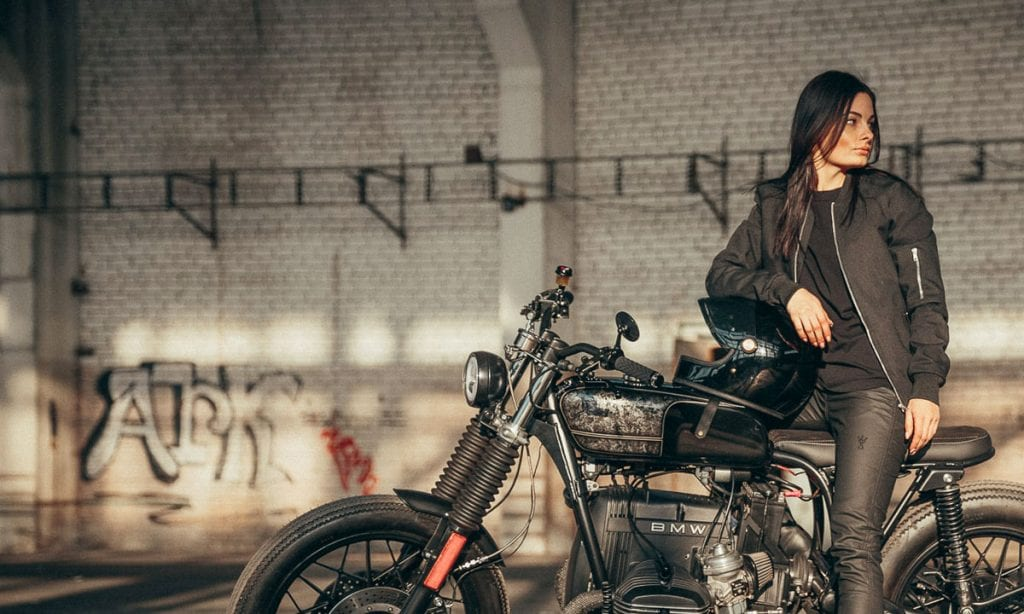 Return of the Cafe Racers - Pando Moto Unisex Bomber Jacket