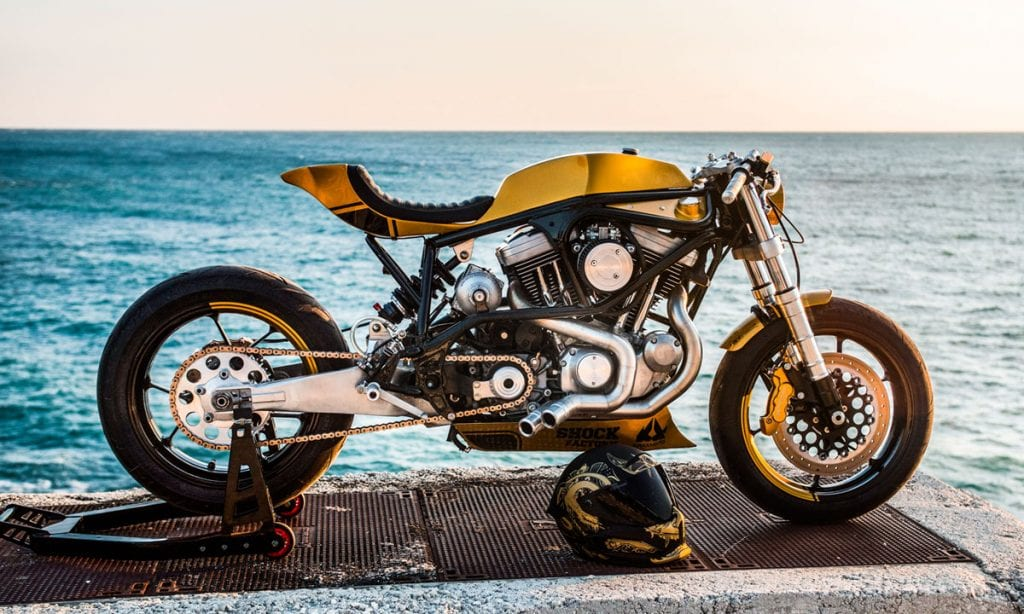 Return of the Cafe Racers - Project X – Taverne Motorcycles Buell M2